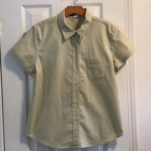 J Crew stretch button short sleeve